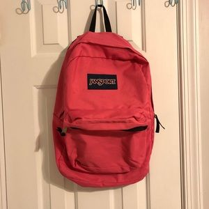 Pink Jansport Bookbag/Backpack